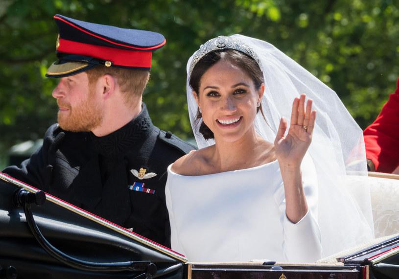 Markle zdecydowała się na suknię ślubną projektu Waight Keller /East News