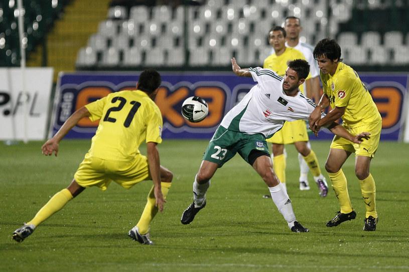 Marko Bajić w towarzyskim meczu z Villareal /Fot. Wojciech Figurski /Newspix