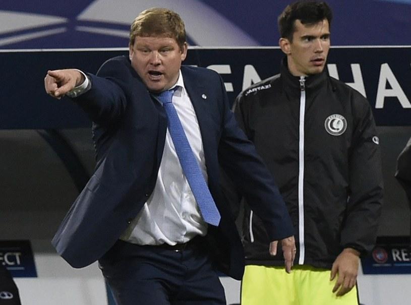 Marko Poletanović (z prawej) jeszcze w barwach KAA Gent /AFP