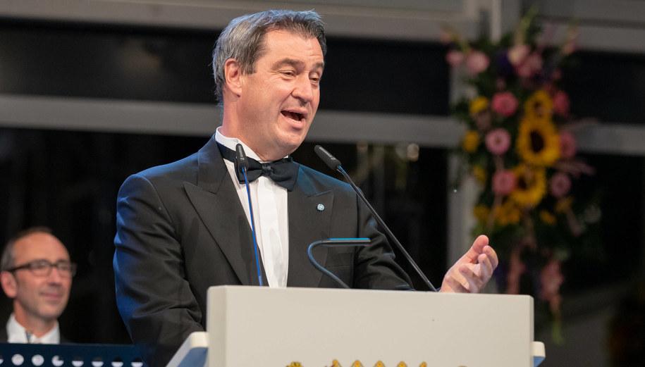 Markus Soeder /Daniel Karmann /PAP/EPA