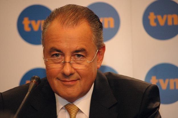 Markus Tellenbach, prezes TVN. Fot. Mariusz Gaczyński /Agencja SE/East News