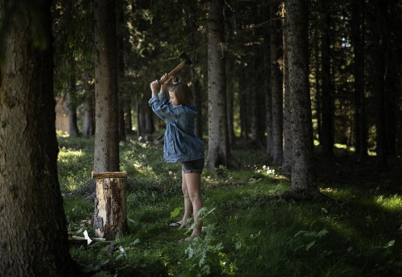 Markus uczy swoje dzieci relacji z naturą /Markus Torgeby /archiwum prywatne