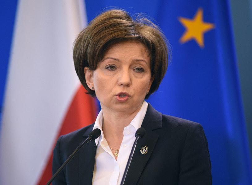 Marlena Maląg, minister rodziny /Adam Chelstowski /Agencja FORUM /Agencja FORUM