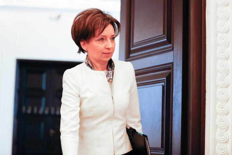 Marlena Maląg, minister rodziny, pracy i polityki społecznej. /Aleksandra Szmigiel /Reporter