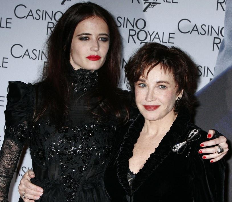 Marlène Jobert i jej córka Eve Green /Francois Durand /Getty Images