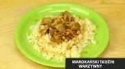 Marokański tadżin warzywny