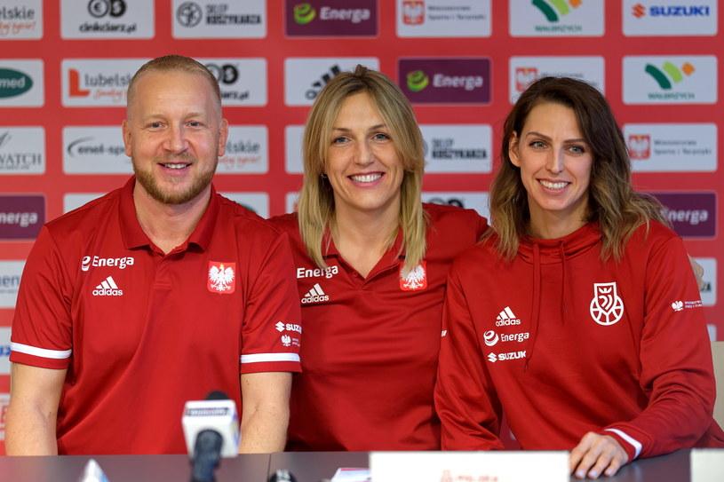 Maros Kovacik, Ewelina Kobryn i Martyna Koc /Sebastian Borowski /PAP