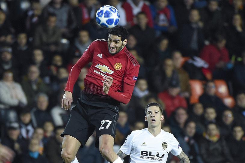 """Marouane Fellaini już nie będzie """"Czerwonym Diabłem"""" /AFP"""