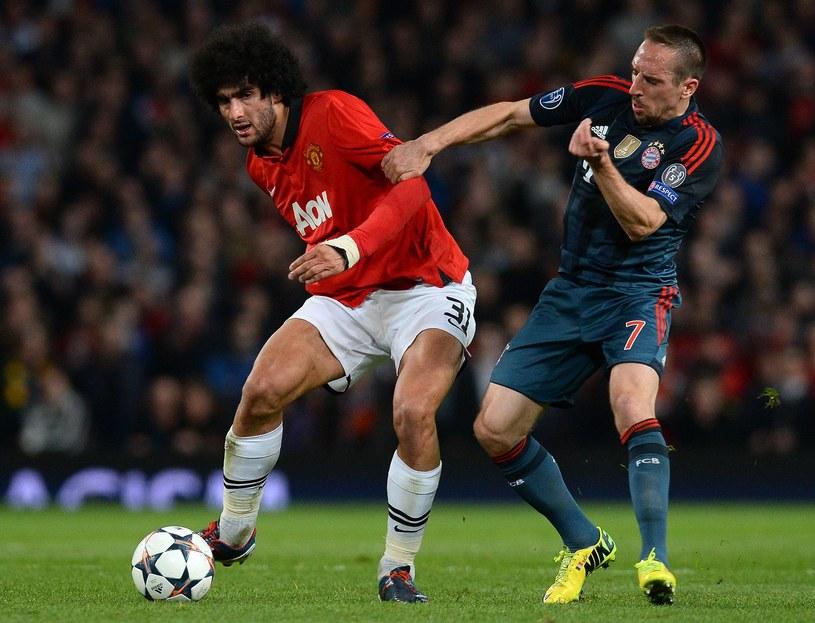 Marouane Fellaini nie zachwycił kibiców Manchesteru United /AFP