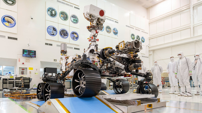 Mars 2020 fot. /NASA /materiał zewnętrzny