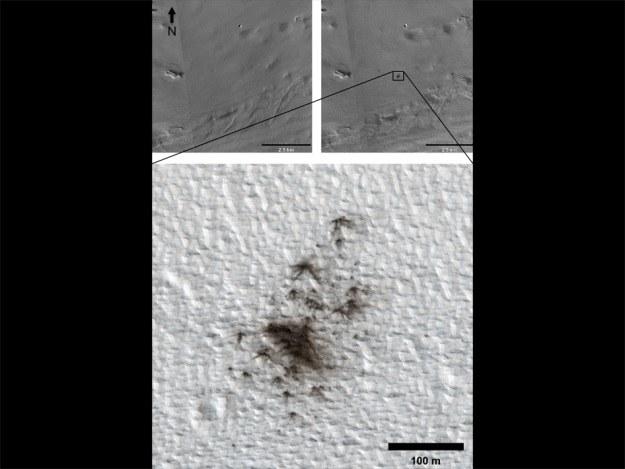 Mars jest stale bombardowany przez kosmiczne skały /NASA