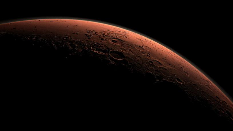 Mars kiedyś był podobny do Ziemi /materiały prasowe
