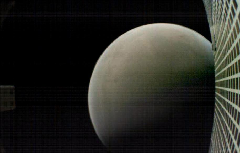 Mars w obiektywie MarCO-B /NASA/JPL-Caltech /Materiały prasowe