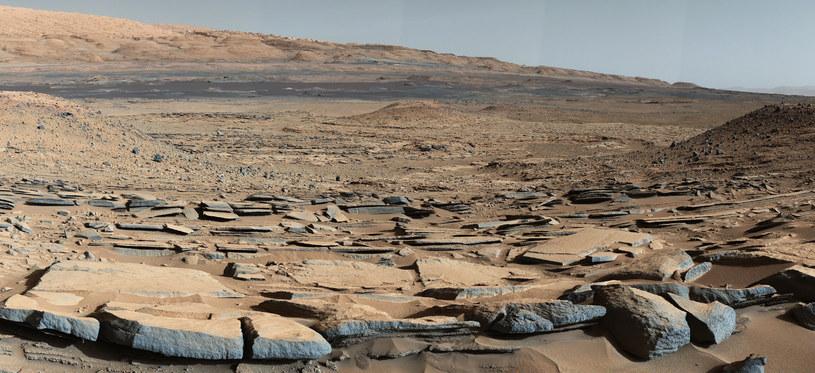Mars: Zdjęcie wykonane przez łazik Curiosity /AFP