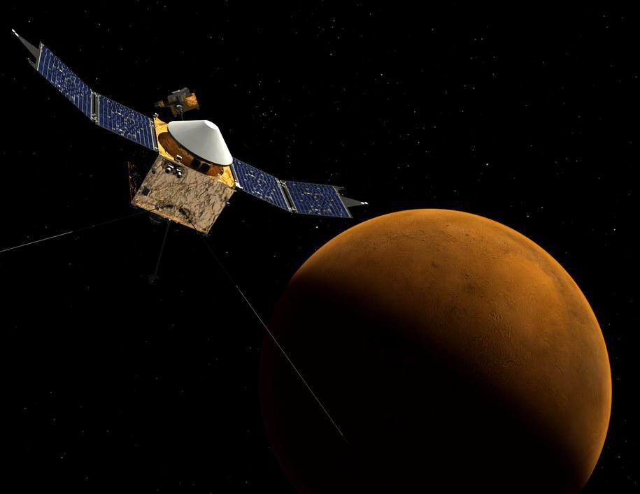 Mars /EPA/NASA/Goddard Space Flight Center   /PAP