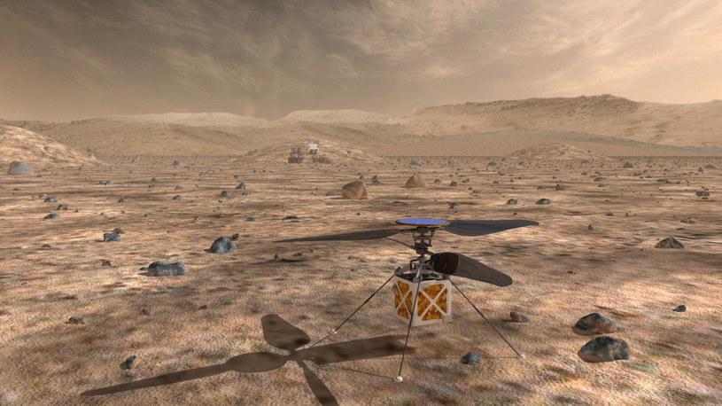Marsjański helikopter - jeden z projektów NASA /NASA