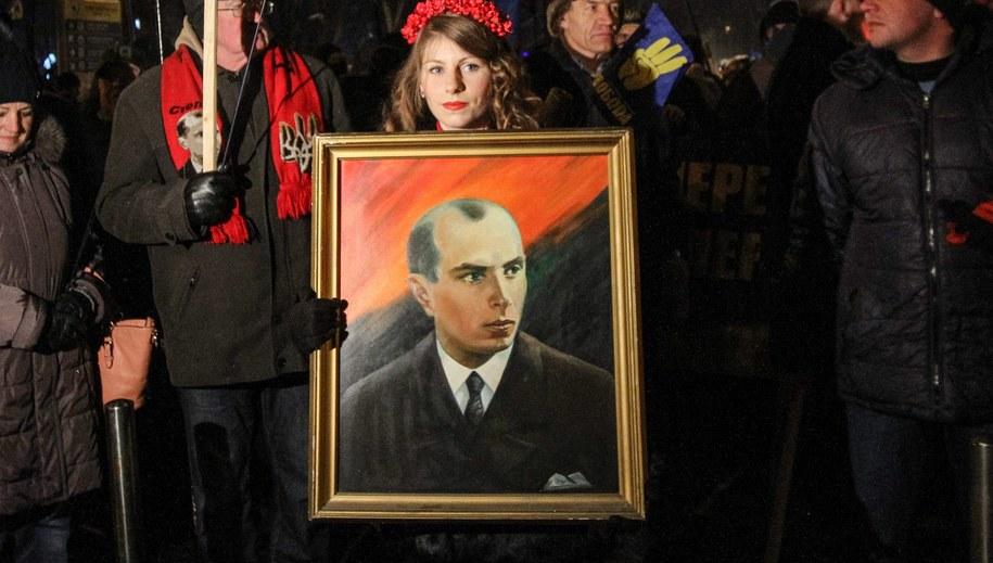 Marsz banderowców w Kijowie /Kharchenko Sergii /PAP/EPA