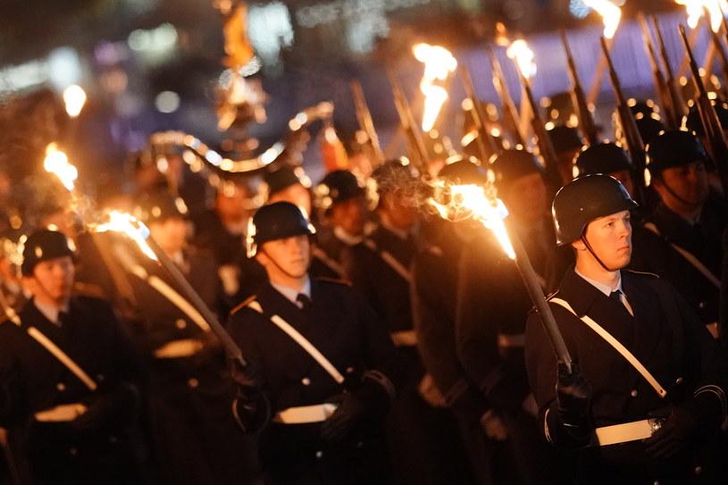 Marsz Bundeswehry w Berlinie /Clemens Bilan /PAP/EPA