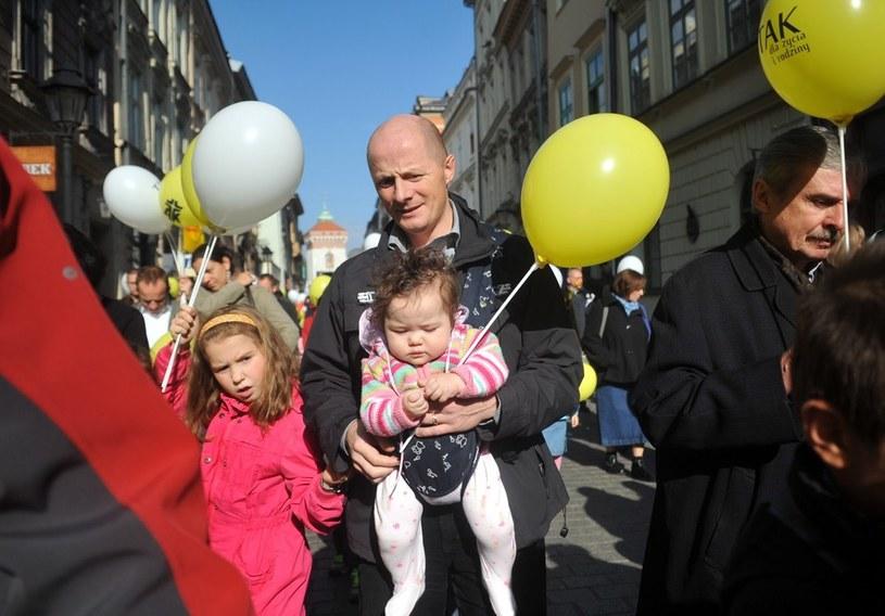 Marsz dla Życia i Rodziny w Krakowie, 2012 r. /M. Lasyk /Reporter