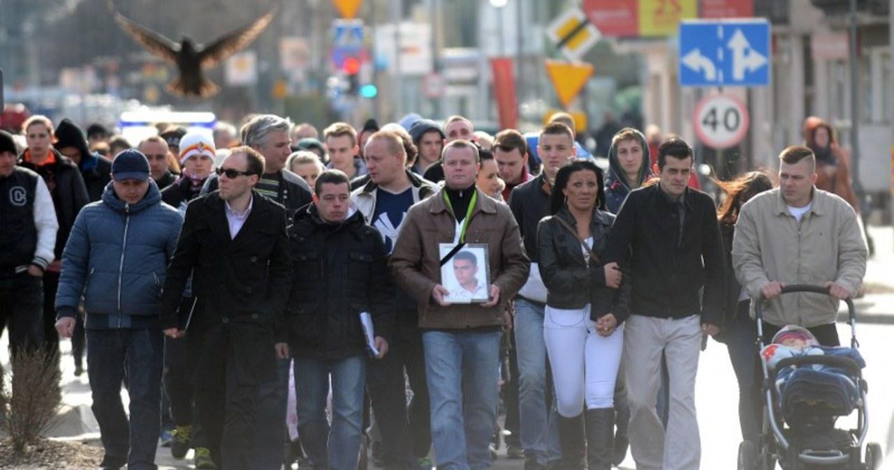 Marsz Milczenia w Legionowie