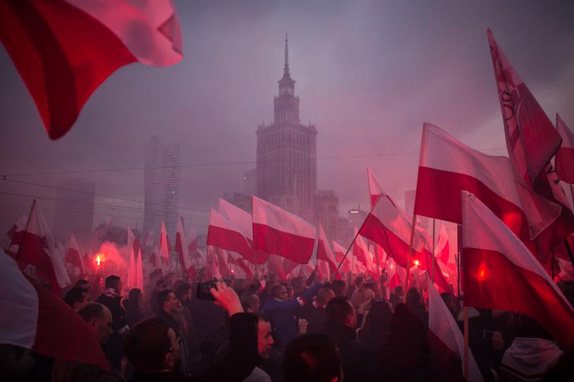 Marsz Nieodległości w 2017 r. / Simona Supino /Agencja FORUM