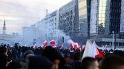 """""""Marsz Niepodległości"""" na ulicach Warszawy"""