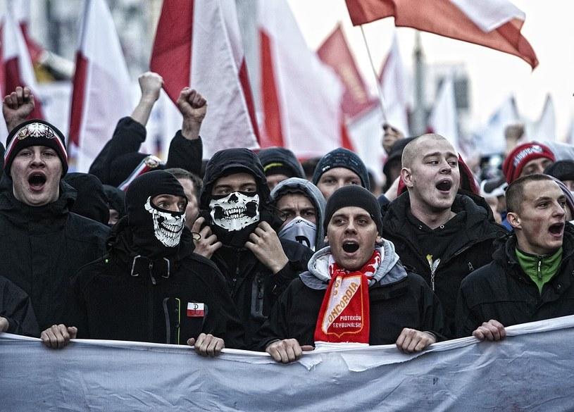 Marsz Niepodległości (zdj. z 2013 roku) /Adam Guz /Reporter
