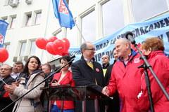 Marsz OPZZ w Warszawie