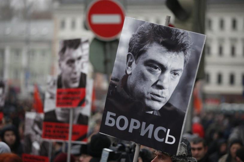 Marsz pamięci Niemcowa /PAP/EPA
