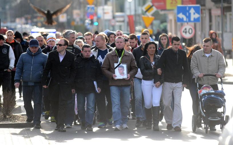 Marsz Pamięci przeszedł ulicami Legionowa /Bartłomiej Zborowski /PAP