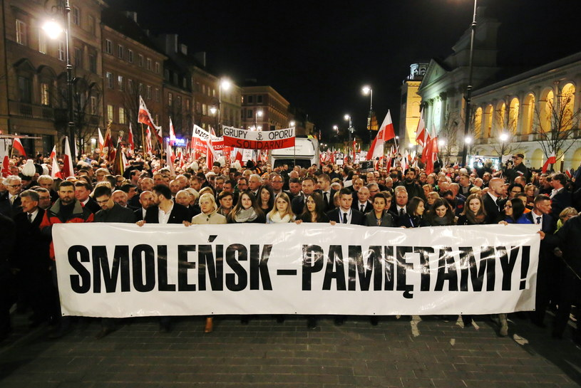 Marsz Pamięci /Paweł Supernak /PAP