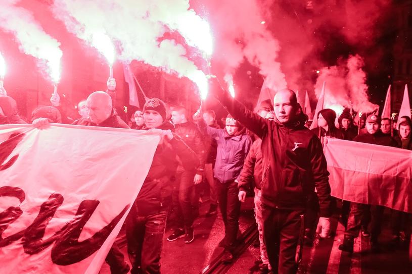 Marsz Patriotów we Wroclawiu 11 listopada ubiegłego roku /Krzysztof Kaniewski /East News