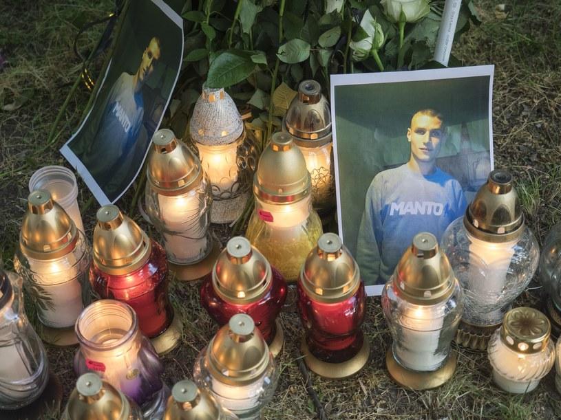 Marsz po śmierci 25-letniego Igora Stachowiaka /Leszek Kotarba  /East News