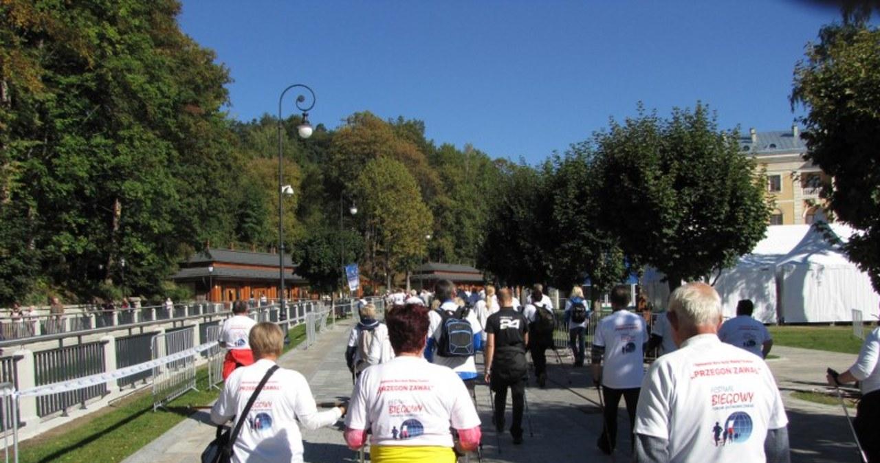 Marsz po zdrowie z Justyną Kowalczyk