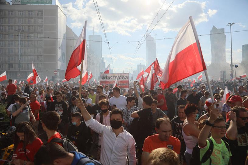 Marsz Powstania Warszawskiego /Jakub Kamiński   /East News