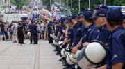 Marsz Równości w Częstochowie. Kontrmanifestanci blokowali trasę