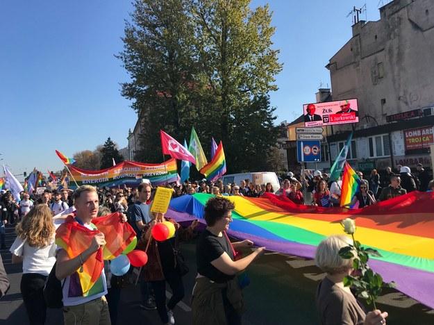 Marsz Równości w Lublinie /Krzysztof Kot /RMF FM