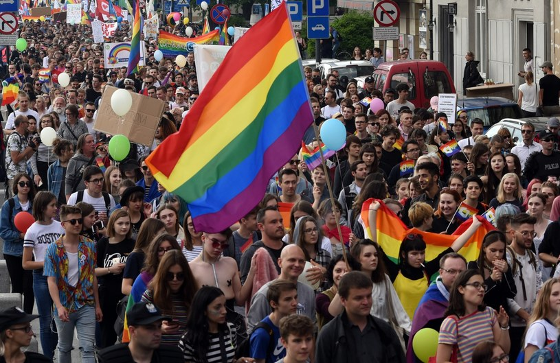 Marsz Równości, zdj. ilustracyjne /Marek Lasyk  /Reporter