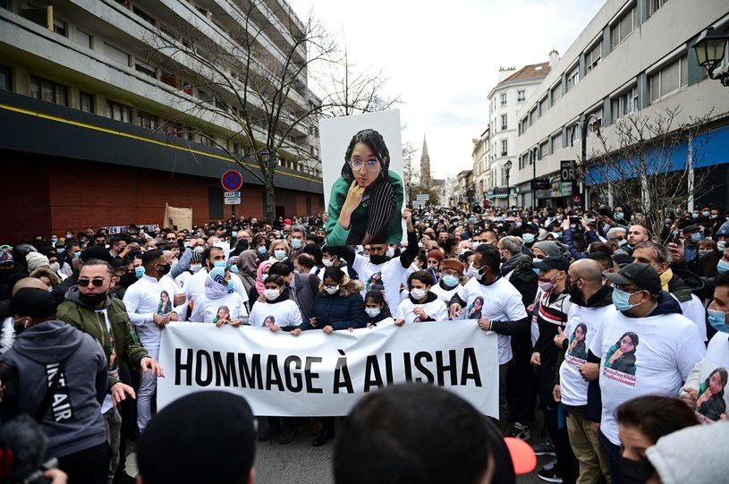 Marsz w Argenteuil /AFP