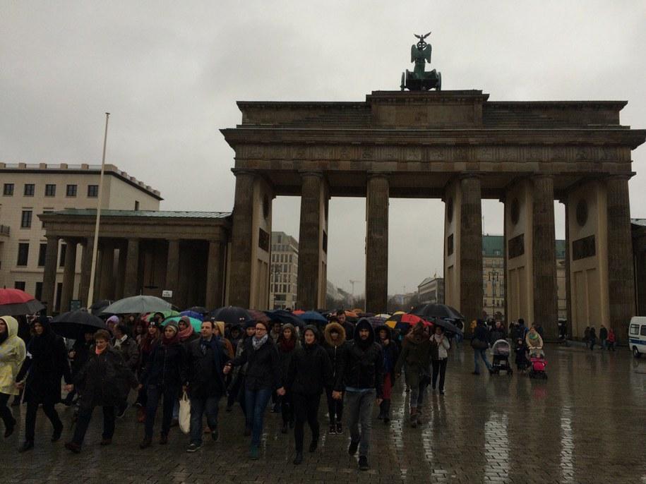 Marsz w Berlinie /Adam Górczewski /RMF FM