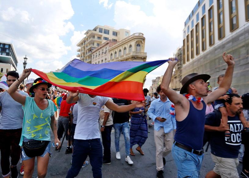 Marsz w Hawanie /ERNESTO MASTRASCUSA /PAP/EPA
