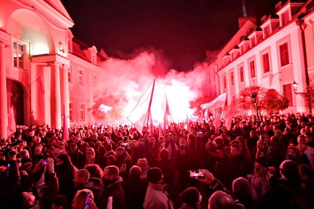 Marsz we Wrocławiu / Maciej Kulczyński    /PAP