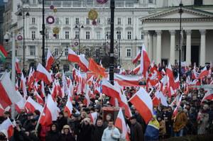 Marsz Wolności i Solidarności w Warszawie