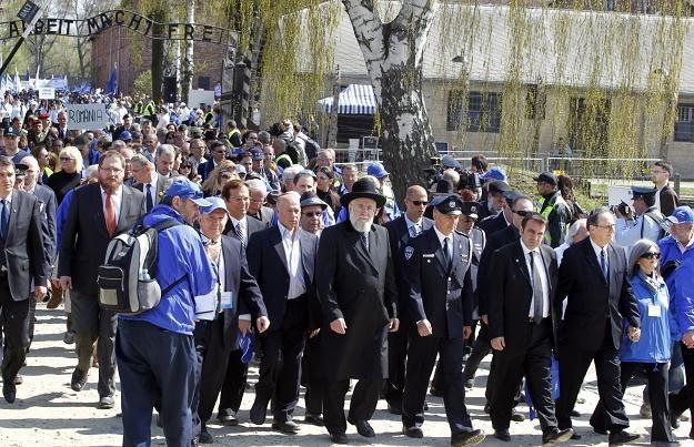 Marsz Żywych, fot. Andrzej Grygiel /PAP