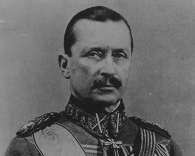 Marszałek Carl Gustaf Mannerheim /Z archiwum Narodowego Archiwum Cyfrowego