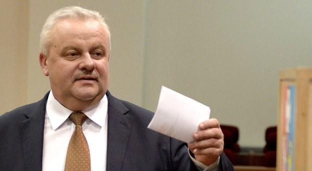 Marszałek dziś stracił swoje stanowisko /Darek Delmanowicz /PAP