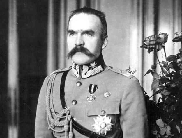 Marszałek Józef Piłsudski w 1921 roku /Getty Images