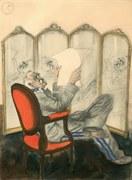 Marszałek Józef Piłsudski w karykaturach Zdzisława Czermańskiego