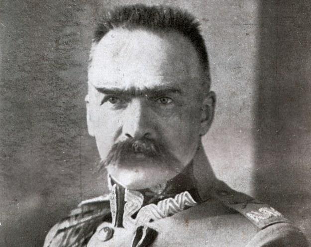 Marszałek Józef Piłsudski /reproduksja: Piotr Mecik /Agencja FORUM