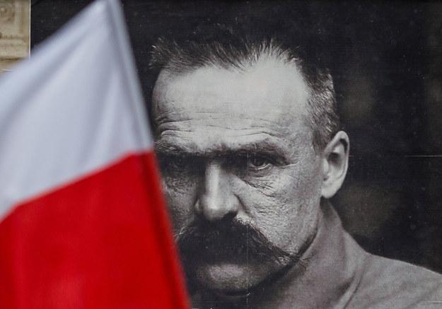 Marszałek Józef Piłsudski /Wojtek Radwański /AFP